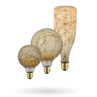 SYNERJI LED Deco Wire Lamps